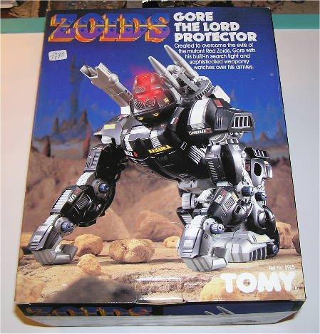 Zoids (Tomy) 1983-1988 OERgore