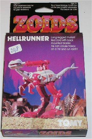 Zoids (Tomy) 1983-1988 OERhellrunner