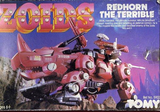 Zoids (Tomy) 1983-1988 OERredhorn