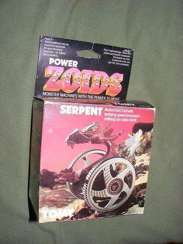 Zoids (Tomy) 1983-1988 OERserpent