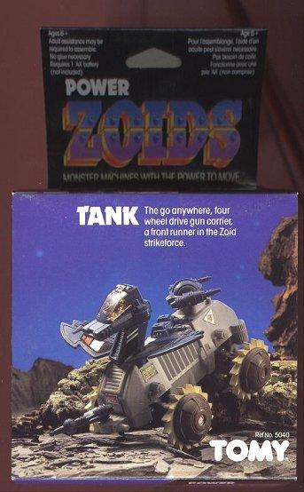 Zoids (Tomy) 1983-1988 OERtank
